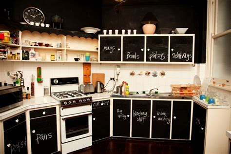 chalkboard paint kitchen cabinets chalkboard wall ideas to create a unique interior