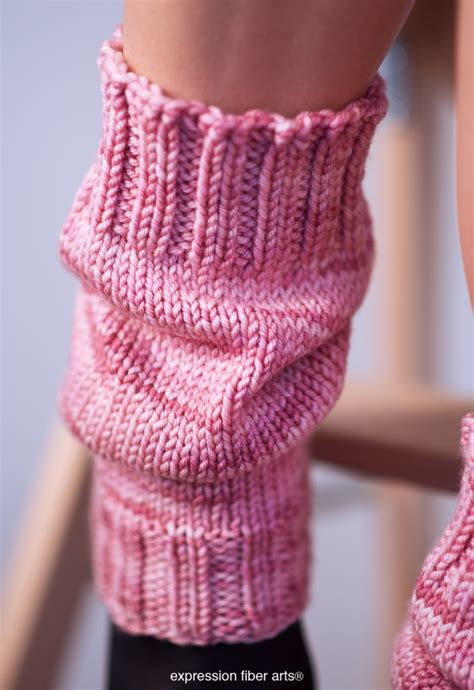 knitted warmers free patterns free scrunchable knitted leg warmer pattern expression