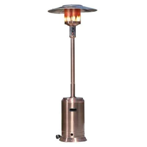 propane patio heaters home depot sense 46 000 btu copper commercial propane gas patio