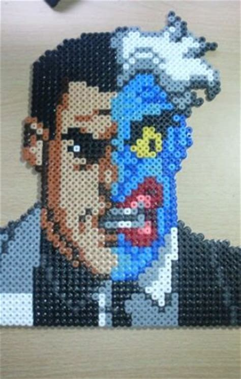 perler wiki 17 best images about batman heroes villains pegboard