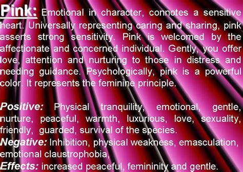 colors of pink pink meaning pink color psychology