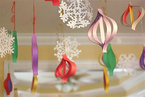 crafting ideas with paper high impact low budget paper craft decorations