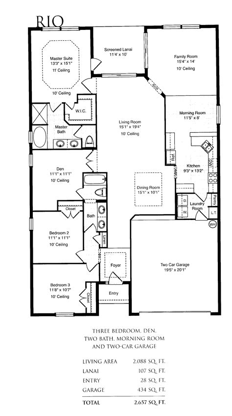 family floor plans single family home plans smalltowndjs