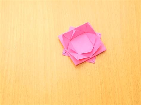 origami lotus how to make an abstract origami lotus 8 steps with pictures