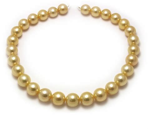 pearls jewelry large golden south sea pearl necklace with a 15mm gold pearls