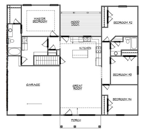basement in suite floor plans basement house plans walkout ranch style floor monument