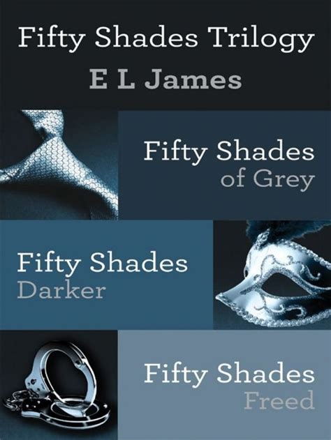 fifty shades of grey book pictures fifty shades trilogy 3 volume boxed set by e l