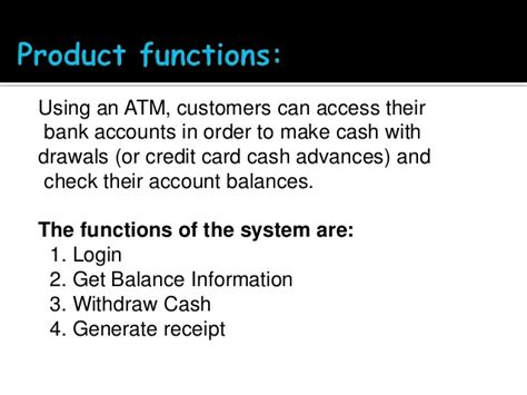 how to make credit card payment through atm atm transaction