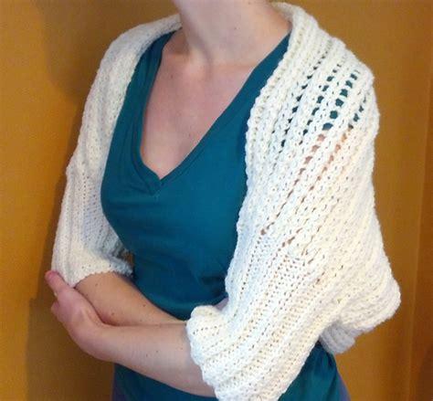 knit shrug pattern knitting patterns galore cozy shrug