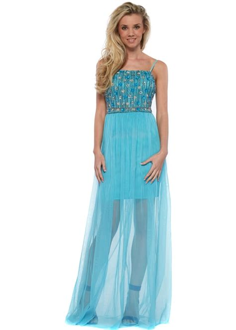 beaded bodice maxi dress goddess turquoise mesh maxi dress with beaded bodice
