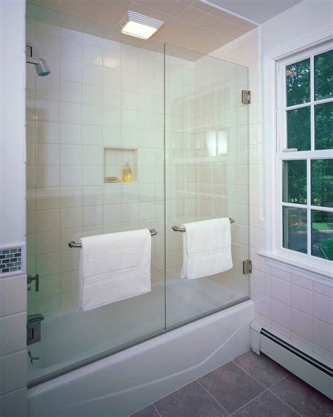 glass bath shower doors best 25 tub enclosures ideas on tubs
