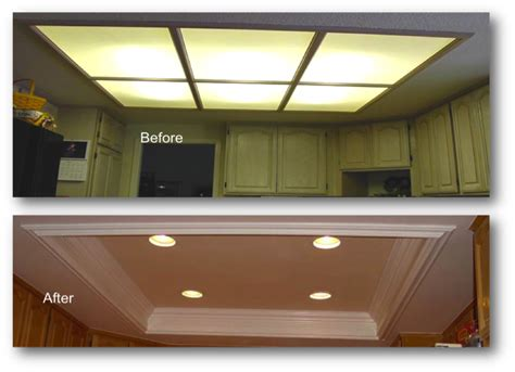 recessed lighting ideas for kitchen kitchen coffered ceiling appleton renovations