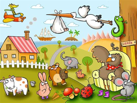 picture book illustrator children s book illustrator portfolio monika vass