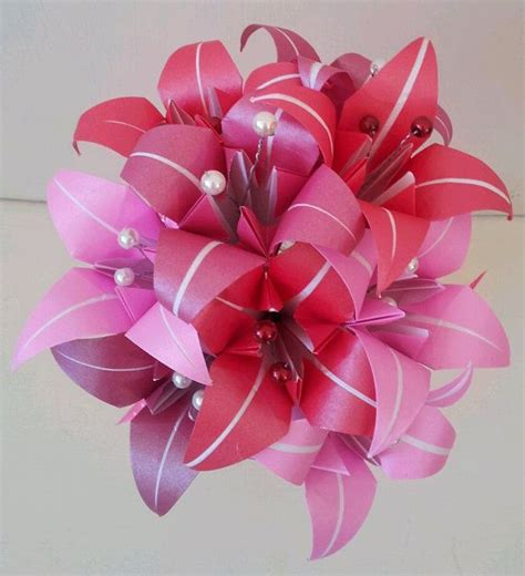 origami flower bouquet for sale paper flower origami s day by