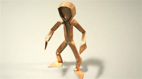 how to make a origami person origami figura humana claudio acu 241 a j