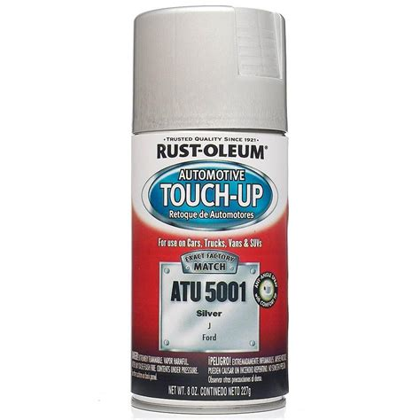home depot appliance touch up paint rust oleum automotive 8 oz silver auto touch up spray 6