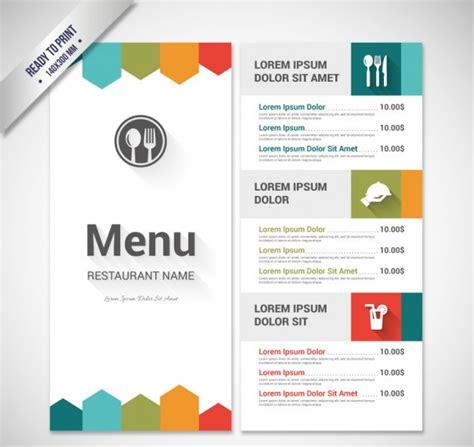 50 free restaurant menu templates food flyers amp covers