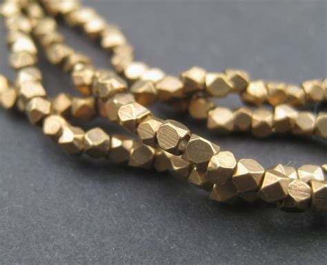 how to make brass jewelry 240 faceted brass 2mm tiny cut brass