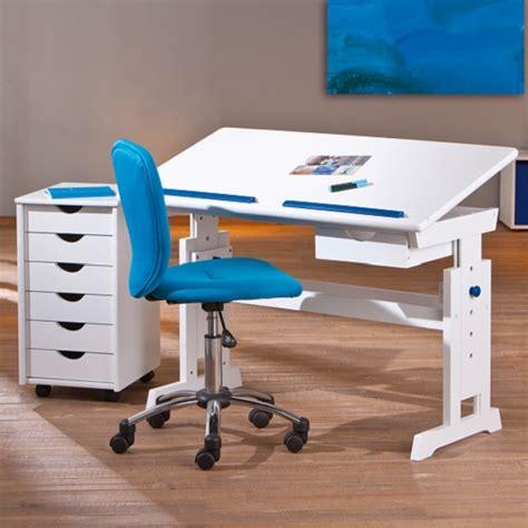 childrens computer desk berito children computer desk in white with pink and blue