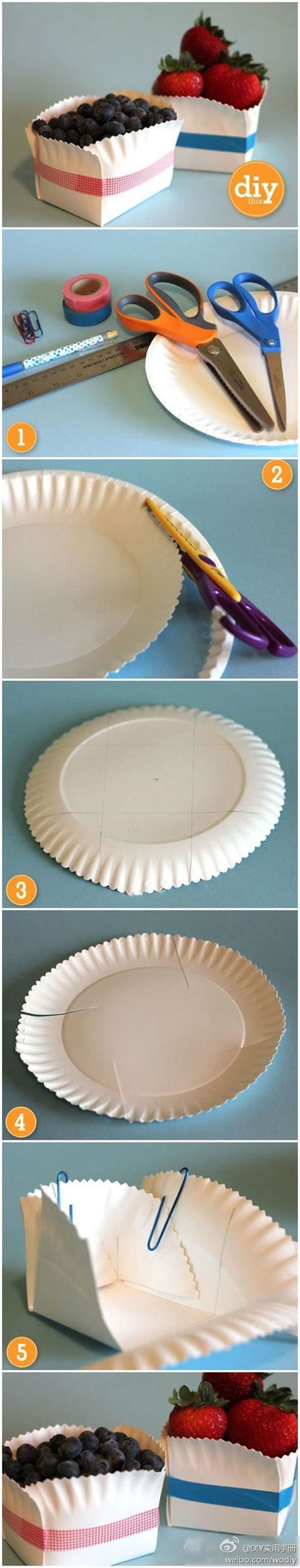crafts out of paper plates make fruit baskets out of paper plates craft ideas