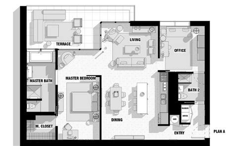 loft floor plans single loft floor plan interior design ideas