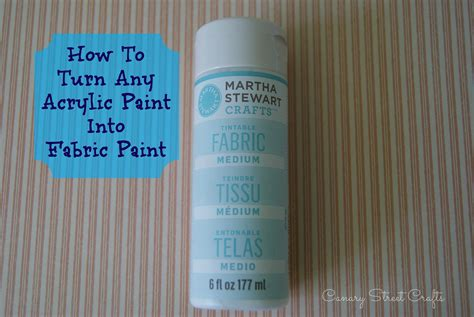 acrylic paint upholstery how to turn any acrylic paint into fabric paint