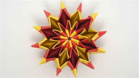 how to do cool origami how to fold cool origami yami yamauchi fireworks step by