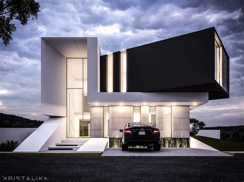 contemporary architecture design exle of stacked floor https www aminkhoury