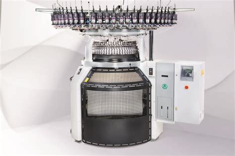 which knitting machine mayer s new knitting machine with spinit technology backing