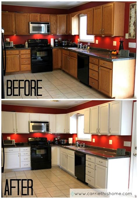 spray painting unfinished cabinets best 25 and white kitchen ideas on white