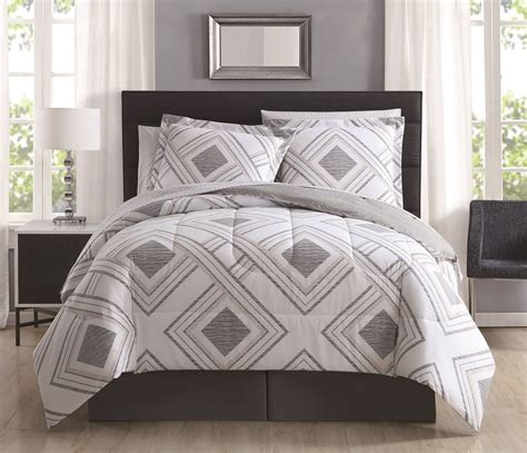 comforter sets with sheets 8 harwich gray reversible comforter set with