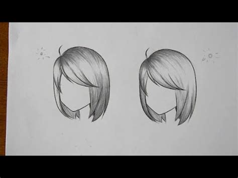 how to shade hair how to draw how to shade hair in different lighting