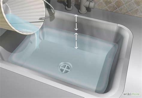 ways to unclog a kitchen sink how to unclog a kitchen sink