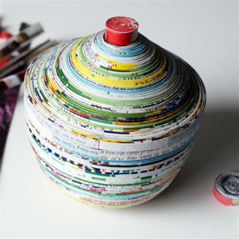 paper recycling crafts recycled craft ideas