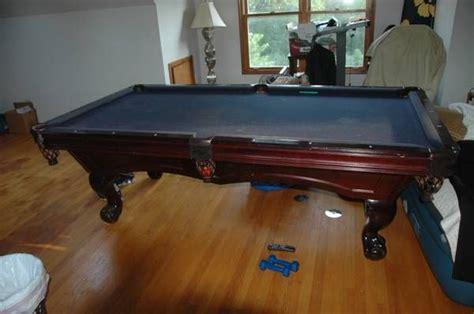 brunswick woodworking brunswick billiards avalon pool table solid wood mahogany