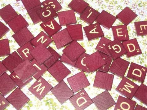 order scrabble letters mahogany scrabble tiles 100 pack free gift with order