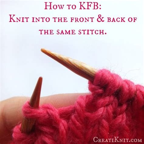 knit front to back how to knit front back an easy knitting stitch 5