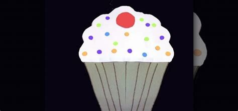 made out of paper how to make a cupcake out of colored construction paper