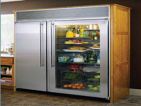 home refrigerator with glass door what are the benefits of purchasing glass door fridges