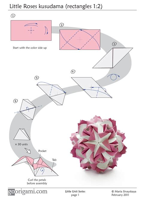 origami insructions tutorial link an origami a day