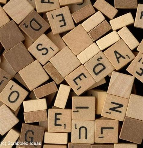 individual scrabble tiles for sale 17 best images about scrabbled ideas parts for sale on