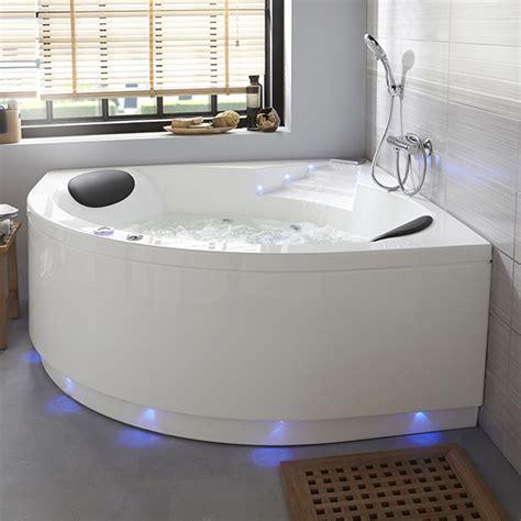 baignoire baln 233 o lumino avec tablier 140 x 140 cm castorama