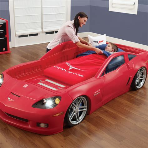 corvette toddler to bed corvette toddler to bed with lights bed step2