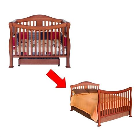 convertible crib size bed davinci 4 1 convertible baby crib w size bed