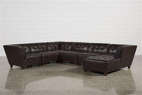 contemporary sectional leather sofa 6 leather sectional sofa modular miami bonded