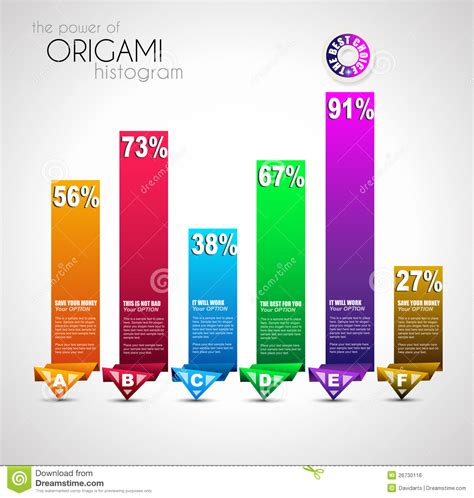 origami style origami style ranking paper royalty free stock image