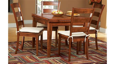 square dining room sets melbourne tobacco 5 pc square dining set dining room