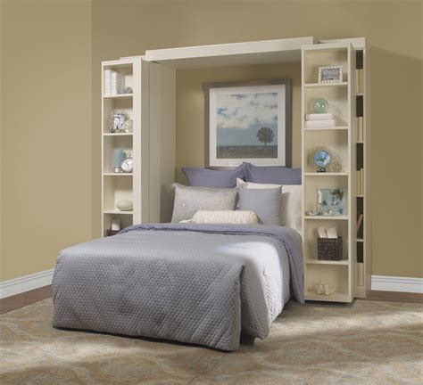murphy bed with shelves more space place murphy bed traditional bedroom