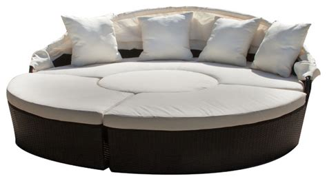 bellagio outdoor furniture bellagio 4 outdoor sectional daybed contemporary