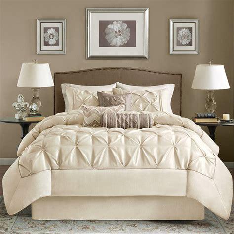 beautiful bed comforter set beautiful modern chic ivory white taupe